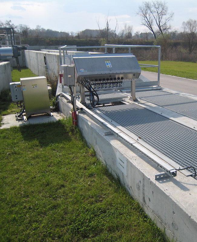 UV система за обеззаразяване на отпадъчни води в открит канал на ПСОВ Севлиевo