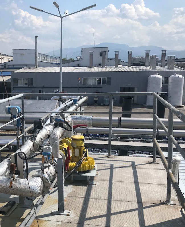 Газодувка с ATEX защита в промишлено предприятие за преработка на плодове