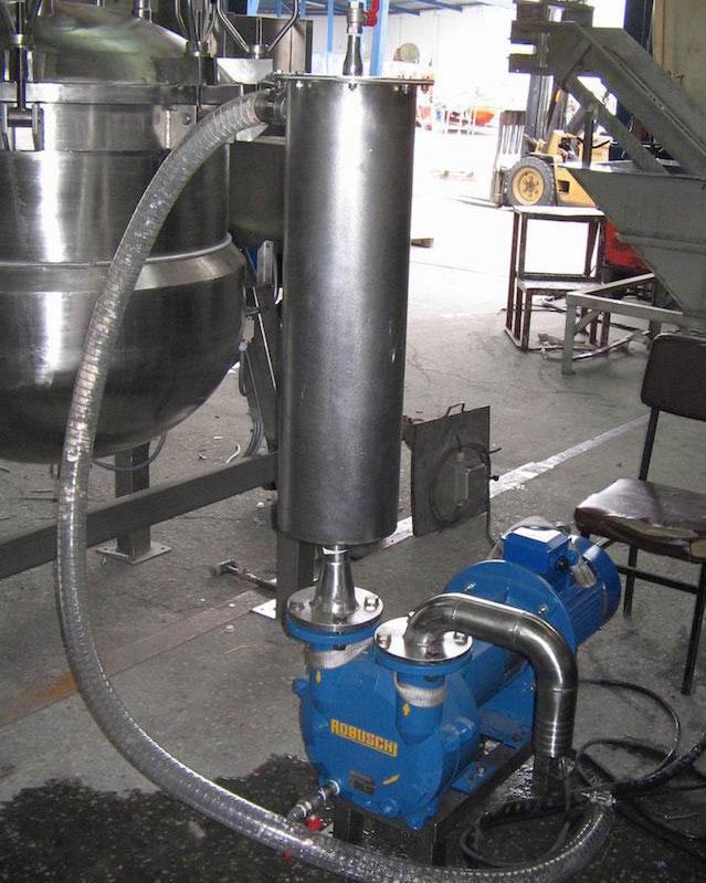 Вакуум помпи воден пръстен за концентрация на сок