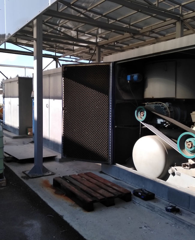 Blowers for wastewater treatment of major pharma industry