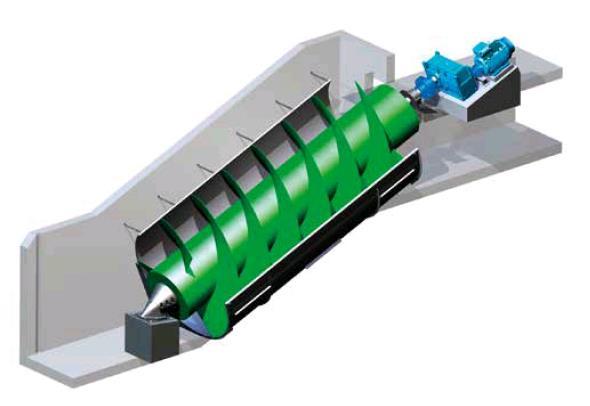 screw steel liner