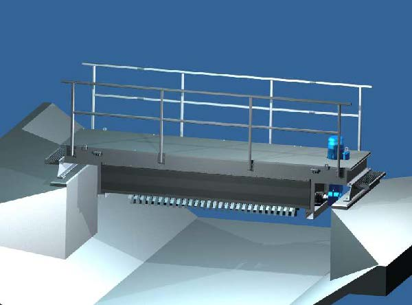 aerators o2rotor bridge