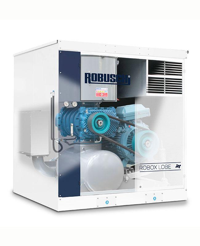 Конфигурация лобни въздуходувки - ROBOX LOBE серия