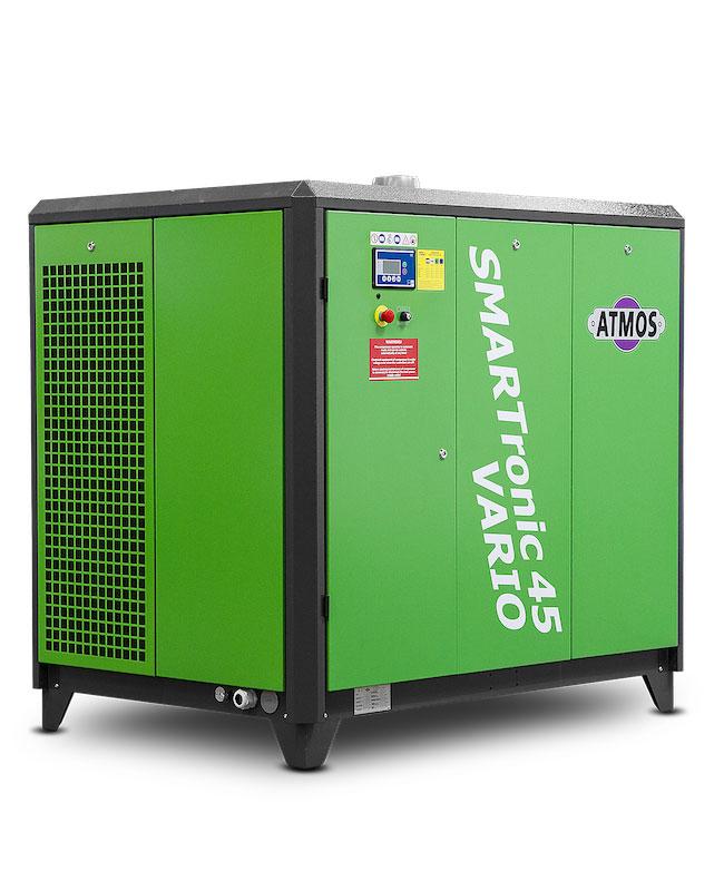 Стационарни винтови компресори серия SMARTRONIC от 30kw до 110 kw