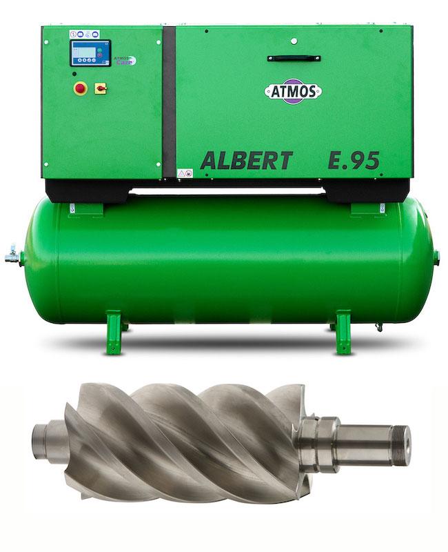 Стационарни винтови компресори серия Albert - 4kW до 20 kW