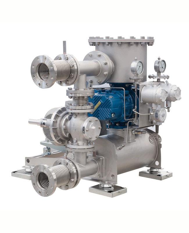 Конфигурация лобни въздуходувки за биогаз - ROBOX BIO&GAS серия