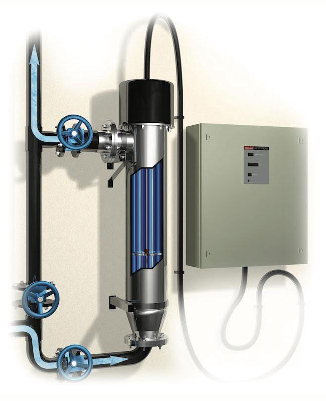 UV система за питейни води при малък брой еквивалент жители - TrojanUVSwiftSC серия
