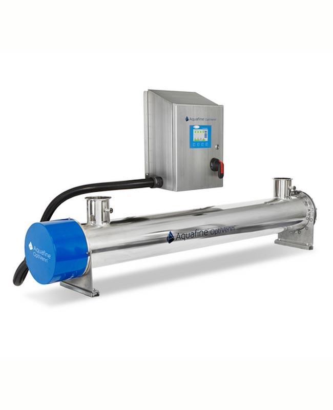 UV система за индустриални процесни води -  OptiVenn серия